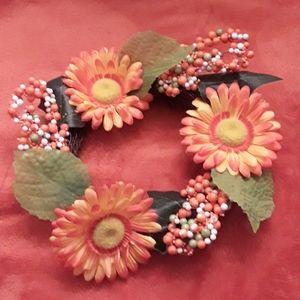 Handmade Gerber Daisy Center Piece Wreath